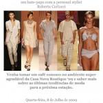 Roberta Carlucci na Casa Nova Boutique '09