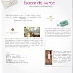 Agenda: Bazar de verão