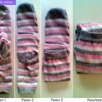 Organização de guarda-roupas: como dobrar