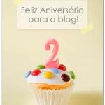 Feliz aniversário para o blog!