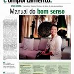 Roberta Carlucci no jornal Notícias do Dia