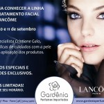 Agenda: Lancôme na perfumaria Gardênia