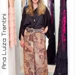 Vintage & moderno: pantalona + camisa de seda + cintão + muitos aneis