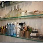 Organizando meus produtos de beauté