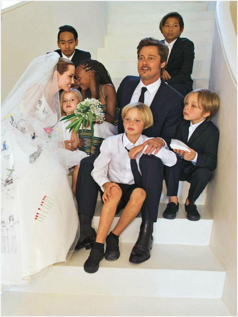 Casamento de Brad Pitt e Angelina Jolie