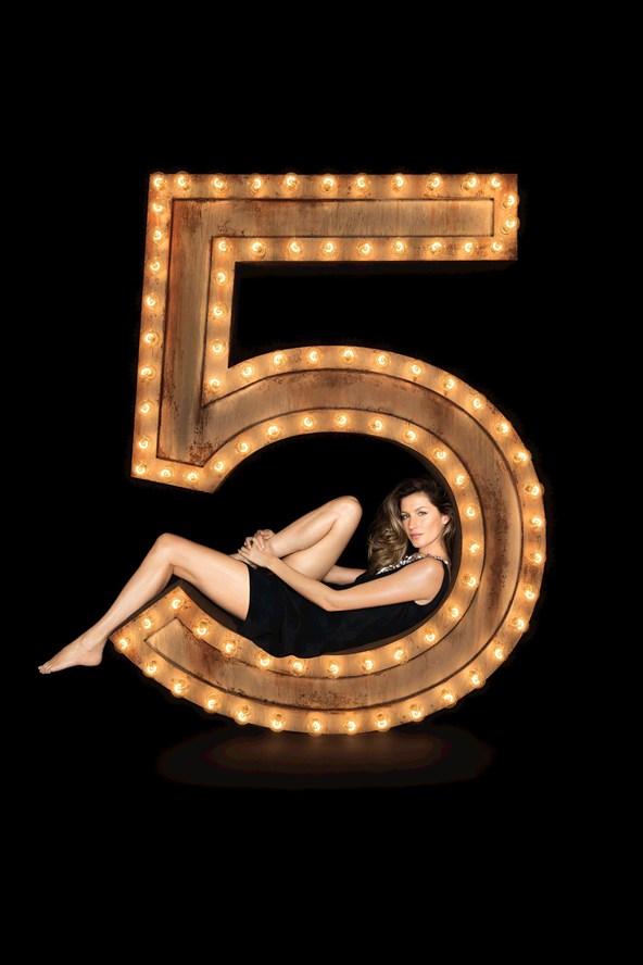 Chanel n5 Gisele Bundchen 4
