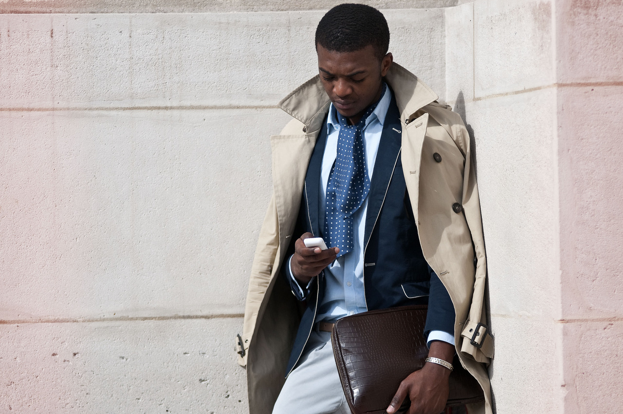 Trench coat homens 2