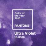Ultra Violet, a escolha da Pantone para cor do ano de 2018
